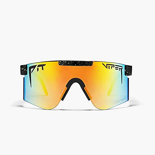 TTAototech Outdoor Radfahren Gläser, Sonnenbrillen Outdoor Radfahren Brille Polarisierte Sonnenbrille für Frauen Und Männer, Winddicht Brillen Uv Schutz