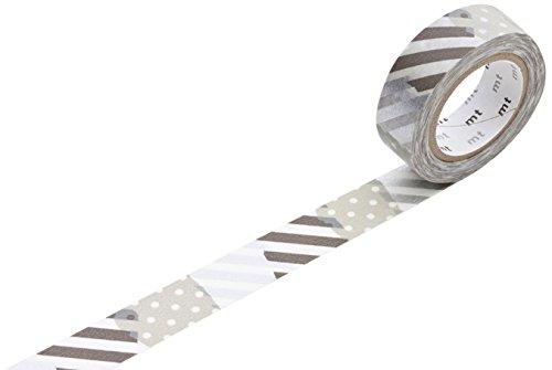 MT Tbsugihagi Washi tape roll, colore: Nero
