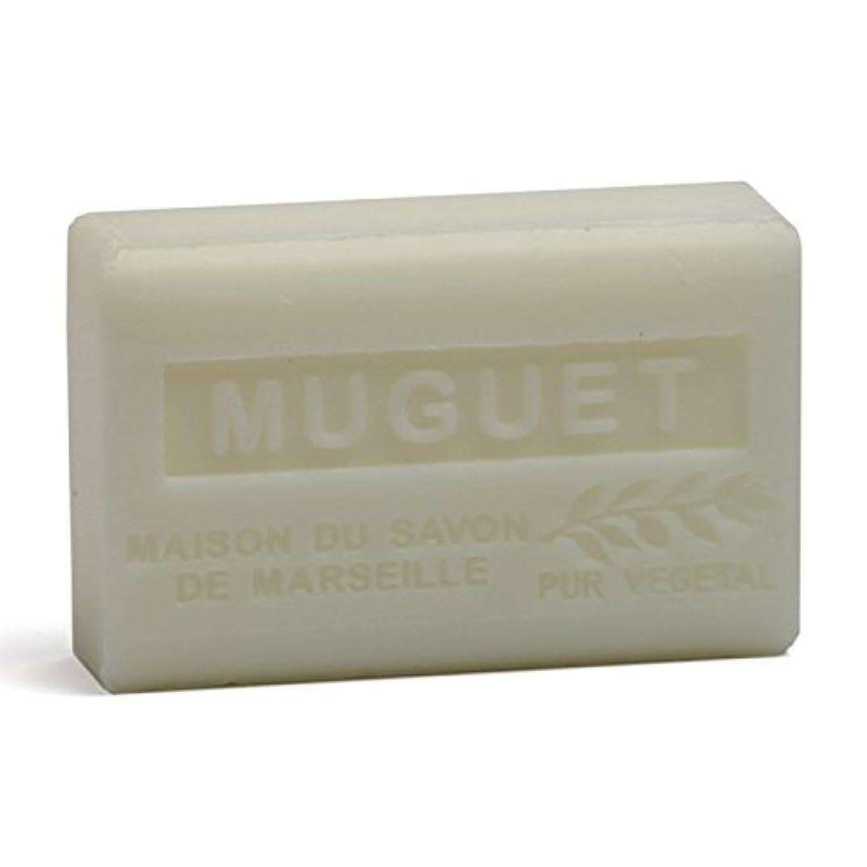 気体の構造的余裕があるSavon de Marseille Soap Lily of the Valley Shea Butter 125g
