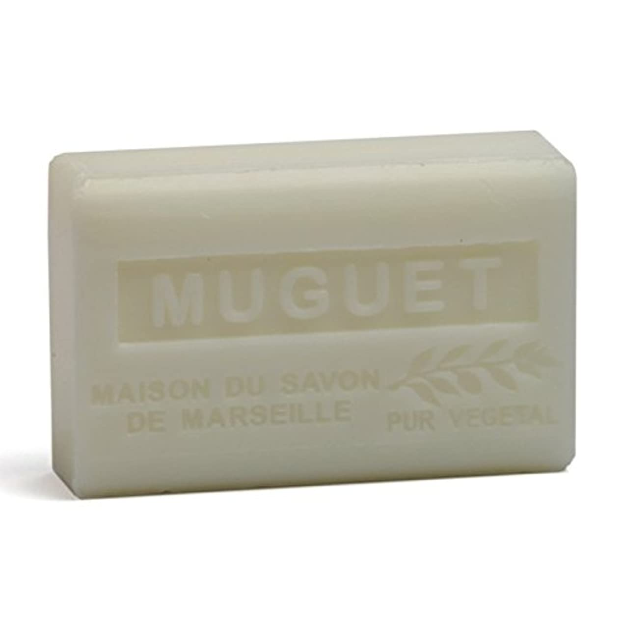 アライメント不実艶Savon de Marseille Soap Lily of the Valley Shea Butter 125g