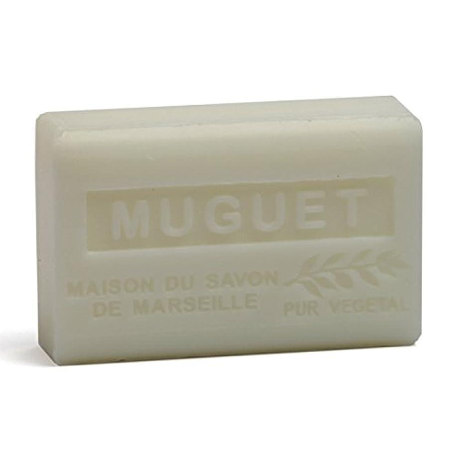 有名人保守的限られたSavon de Marseille Soap Lily of the Valley Shea Butter 125g