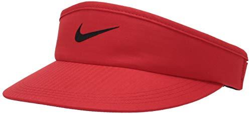 Nike Unisex-Erwachsene Core Visor, Unisex-Erwachsene, Mütze, Unisex Nike Core Visor, Universität Rot/Anthrazit/Schwarz, Einheitsgröße
