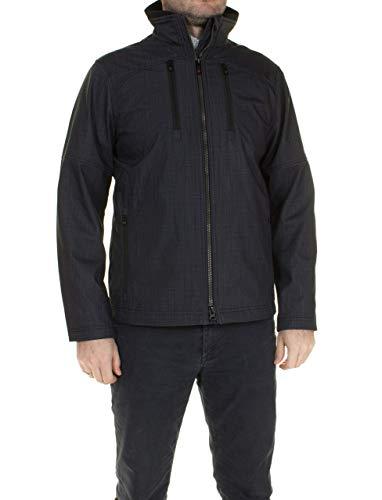 Wellensteyn Sprinter MEN-923 MelaCroSoftshell Herren Softshelljacke, Größe:S, Farben:Blackcheck
