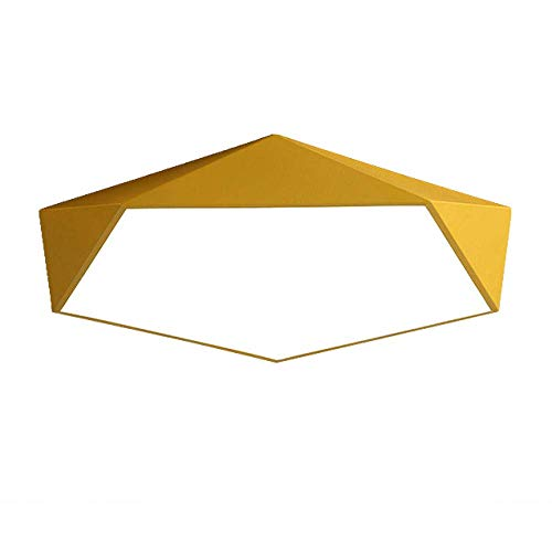 RUIXINBC LED plafondlamp slaapkamer kroonluchter Nordic diamant LED plafondlamp Macarons kroonluchter modern kinderkamer nachtlampje geel