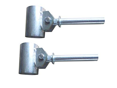 faltbootspiegel Ruderdollen (Paar) für Ruderboot Anka/Zapfen 15 mm