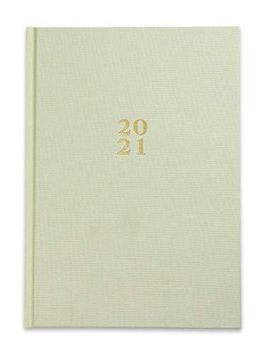 Die.Organizer 2021 Kalender - A5 Terminplaner & Familienplaner mit Hardcover Blassgrün