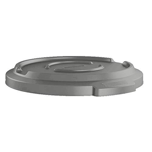 Preisvergleich Produktbild Rotho Titan Deckel für Titan 85l Mülltonne,  Kunststoff (PP) BPA-frei,  anthrazit,  (50, 0 x 50, 0 x 6, 0 cm)