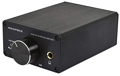 Discover Bargain Monoprice 111567 Desktop Headphone Amplifier