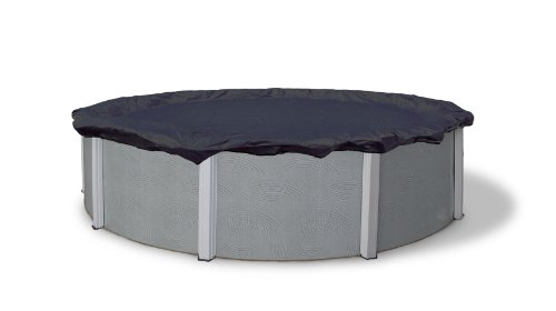 Blue Wave Bronze 8-Year 28-ft Round Above Ground Pool Winter Cover