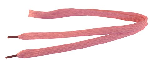 Underground Kulture d'enfant Lacets de Skate -Rose Bebe 8mm x 60cm (Kids Baby Pink Shoelaces)