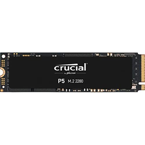 Crucial P5 1TB CT1000P5SSD8 SSD Interno-Fino a 3400 MB/s (3D NAND, NVMe, PCIe, M.2, 2280SS)