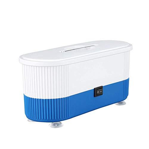 WOTEG - Limpiador por ultrasonidos, limpieza física por ultrasonidos, multifuncional, para limpiar joyas, gafas dentales