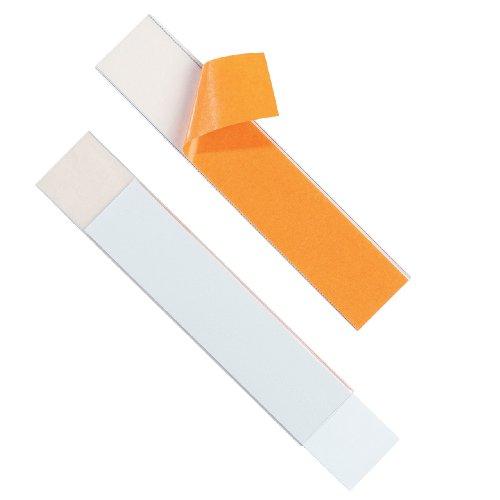 Durable 804019 LABELFIX Sachet de 5 Porte-étiquettes adhésifs souples 40 mm
