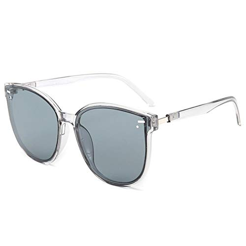 SELLM Squar Gafas de Sol Mujer Dise?o de Marca Recubrimiento Espejo Se?Ora Gafas de Sol Mujer Gafas de Sol para Mujer Gafas, C6