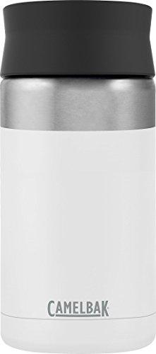 1834 Camelbak Hot Cap Thermo Trink Becher Flasche 600ml Isoliert Kaffee Tee Warm 360/° Deckel Edelstahl Farbe Schwarz Silber
