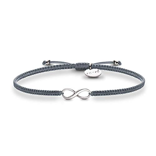 Infinity Armband 925 Silber Geschenk für Frauen