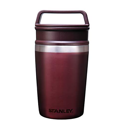STANLEY(スタンレー) 真空マグ 0.23L ワインレッド 保冷 保温 頑丈 密閉 マグ コーヒー クリスマス ホリデー 02887-047 (日本正規品)
