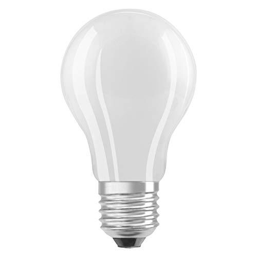 Osram LED SuperStar Classic A Lampe, in Kolbenform mit E27-Sockel, dimmbar, Ersetzt 60 Watt, Matt, Kaltweiß - 4000 Kelvin, 1er-Pack