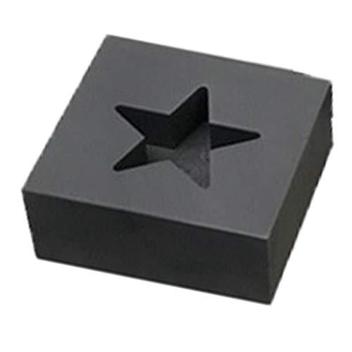 harayaa 70x40x20cm Grafite Lingotto Stampo 5-6ml per Oro Argento del Metallo di Fusione di Alluminio Casting raffinazione dei Monili del Metallo - A Cinque Stelle