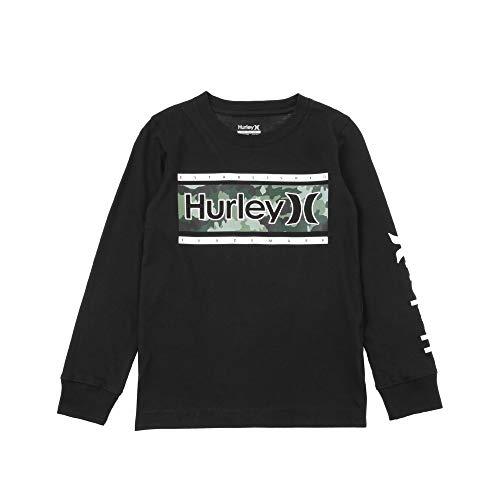 ハーレー(ハーレー) キッズ STATEMENT 長袖Tシャツ 883909-K8L (ブラック/110/Jr)