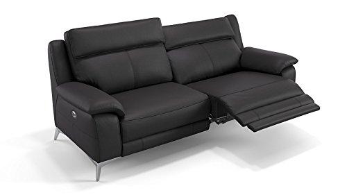 Designer Sofa Leder Couch Sofagarnitur Zweisitzer Polstergarnitur 2er