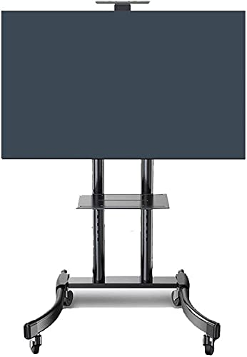 TV Rack Stand Wall Bracket 32 to 65 Inch Mobile TV Cart Universal Flat Rolling TV Stand Trolley Console Stand for LED LCD Plasma Flat Panels on Wheels TV Rack Beautiful Home