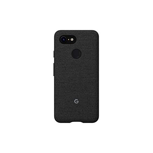 Google Fabric Case Cell Phone Case for Pixel 3XL - Carbon Fabric