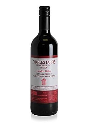 Non Alcoholic Communion Wine - Red