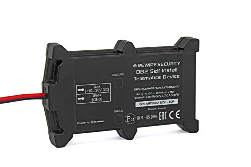 Rewire Security DB2 - Real Time Self Install Vehicle GPS Tracker Tracking System Device - Fleet, Car, Van, Caravan, Motorbike, Motorcycle