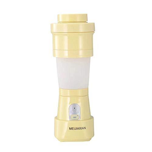 jinclonder Folding Juicer, tragbare USB-Lade Juicer Cup Blender Mixer für Obst Smoothies Gemüse Iced Drinks Milchshakes Babynahrung, genießen Sie EIN gesundes Leben
