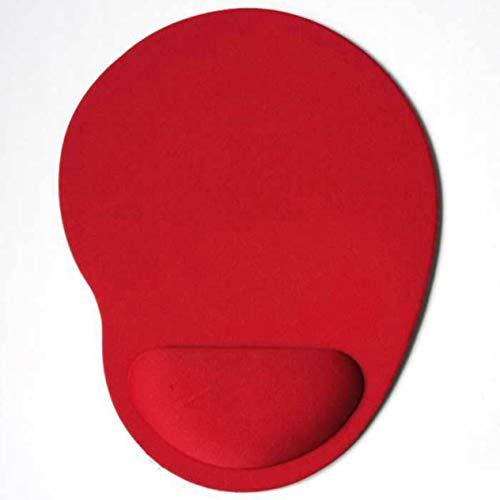Eva Foam 3D Mouse Pad Muñequera Mousepad Muñequeras Pad Alfombrillas para Gamer (Rojo) FGHJNXRFJN