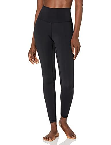 Colorfulkoala Women's Buttery Soft High Waisted Yoga Pants Full-Length Leggings (XS, Black)