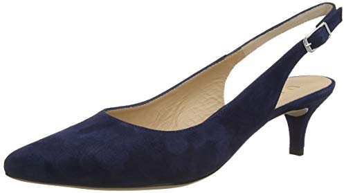 Unisa Jamal_KS, Zapatos de Talón Abierto Mujer, Azul (Ocean Ocean), 39 EU