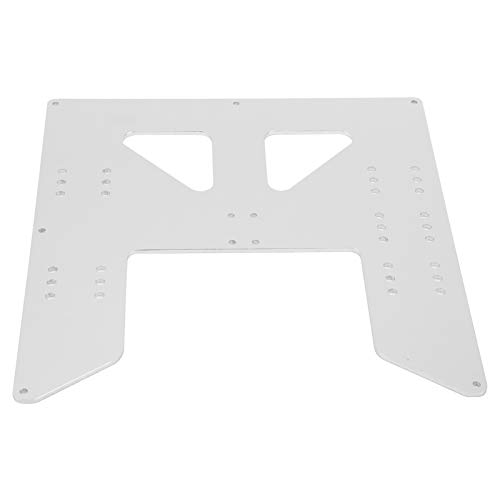 Smooth Surface Finish Drucker Hot Bed Support Plate Stoßfeste Hot Bed Aluminiumplatte Hot Bed Board für PRUSA I3 / Anet A8