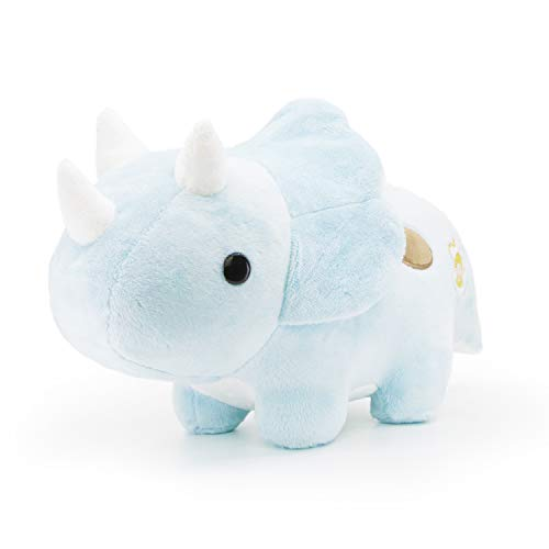 Bellzi Triceratops Cute Stuffed Animal Plush Toy - Adorable Soft Dinosaur Toy Plushies and Gifts - Perfect Present for Kids, Babies, Toddlers - Seri