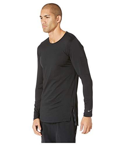 Nike Top Fitted Utility à Manches Longues pour Homme M Noir/Noir