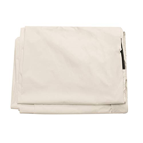 xingxing Industrial Hardware - Cubierta de rodillo solar impermeable para piscina (polietileno, 16 pies), color blanco