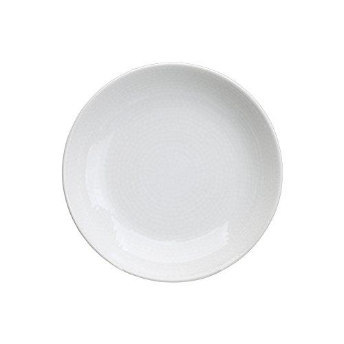 Avet Spain Juego de Platos Hondos, Gres, Blanco, 21x21x4.03 cm, 6 Unidades