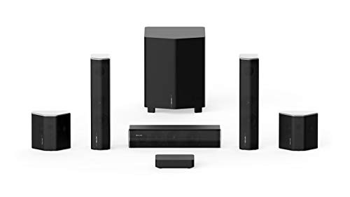 2020 Enclave Audio CineHome II Wireless 5.1 Home Theater Surround Sound - CineHub Edition Bundle | 24 Bit Dolby Audio & DTS | WiSA Certified