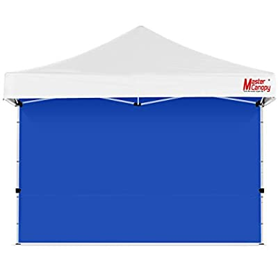 MASTERCANOPY Instant Canopy Tent Sidewall for 12x12 Pop Up Canopy, 1 Pack (12'x12', Blue)