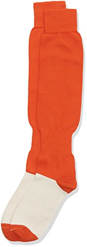 Gimer 6/061, Calzettoni Calcio Uomo, Arancione, L, Confezione da 10 pezzi