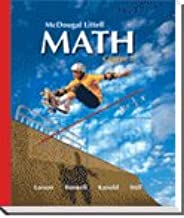 McDougal Littell Middle School Math Nevada: Student Edition Course 1 2008