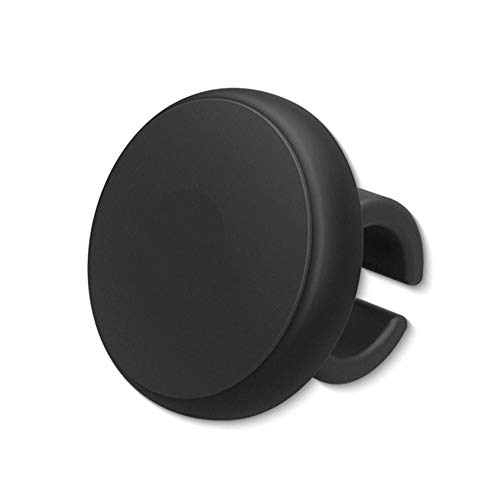 Naisidier Pommeau de volant de voiture en silicone antidérapant - Noir - Accessoires automobiles