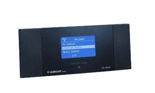 Albrecht DR460-W Internet-Radio für Stereoanlage (250 Speicherplätze) schwarz