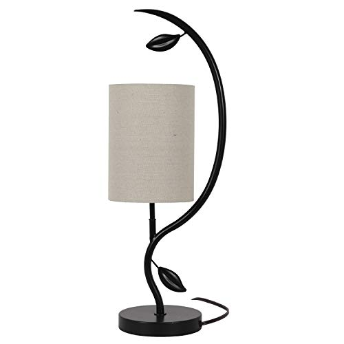 """22"""" Anna Leaf Table Lamp Painted Bronze - Decor Therapy"""