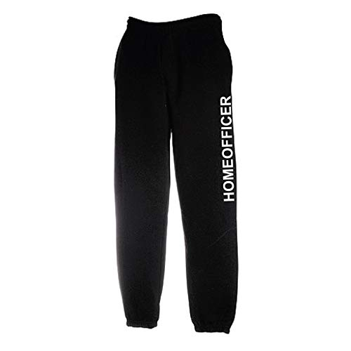 Fun Jogging Hose Homeofficer Home Office Büro L schwarz