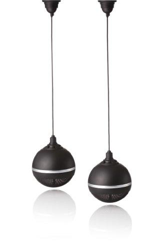 AMC SL 20MB RAL9017 Spherical Lautsprecher (2er Pack), schwarz