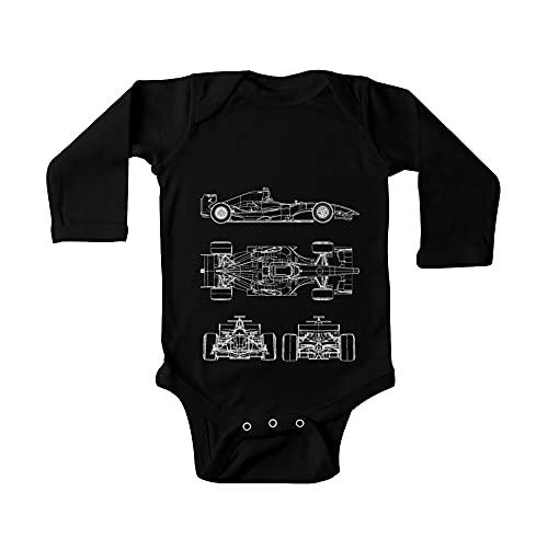 Huang Proyecto del proyecto del coche de carreras bebé de una pieza