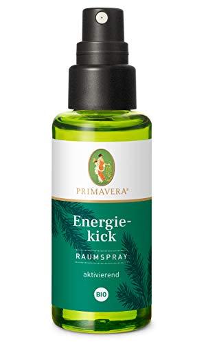 PRIMAVERA Raumspray Energiekick bio 50 ml - Douglasfichte, Weißtanne und Grapefruit - Aromadiffuser, Aromatherapie - aktivierend - vegan