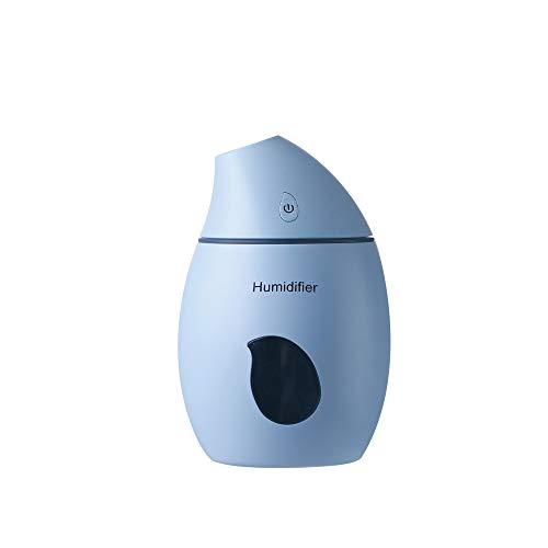 Sencillo Vida Difusor de Aceites Esenciales Humidificador Aromaterapia Difusor de Aroma Purificador de Aire Ultrasónico para Yoga SPA Oficina Habitación Dormitorio y Baño